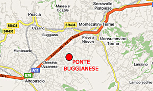 Mappa Ponte Buggianese